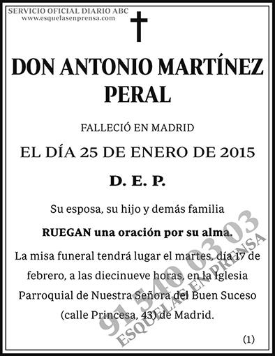 Antonio Martínez Peral